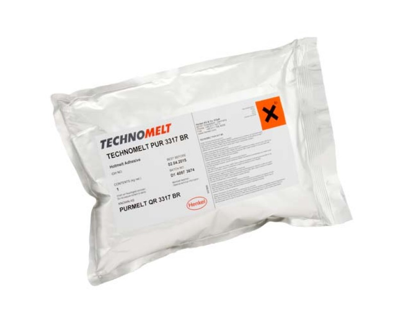 Technomelt PUR 3317 BR Hot Melt Adhesive granules 1kg