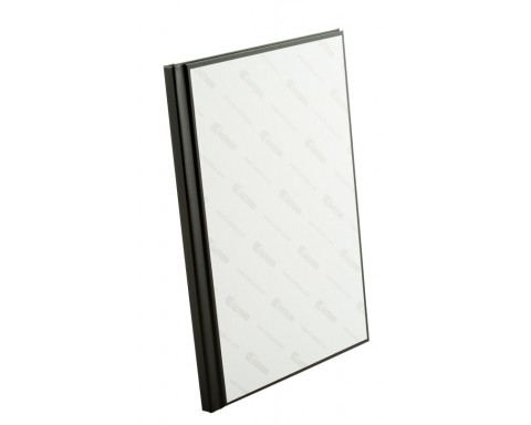 PrintMount Hard Cover, Manager Musta, 305x203 mm pysty, leveys 10 mm, 10 kpl