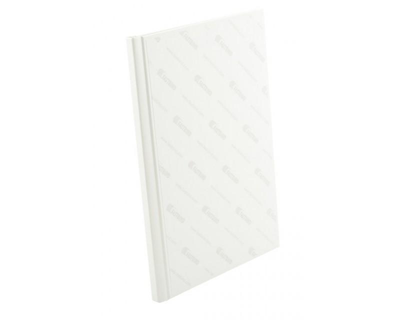 PrintMount Hard Cover Setti, Manager Valkoinen, A4 pysty, leveys 10 mm, 10 kpl