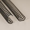 Mustat metallikamman (wire-o) pätkät (11)
