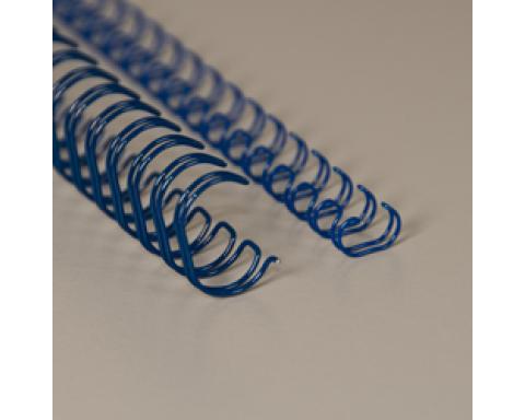 No 04 (1/4) sininen 3:1 metallikampa A4 (6,9mm) 100kpl/ltk