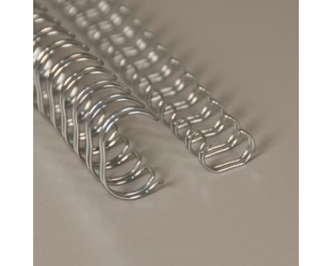 No 04 (1/4) 3:1 hopea A4 metallikampa 100kpl/ltk