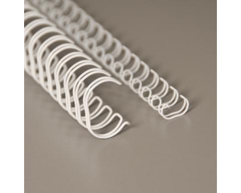 No 04 (1/4 ), 6,4 mm, 3:1 valkoinen A4 metallikampa 100kpl/ltk