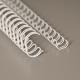 """No 05 (5/16""""), 8,0 mm, 3:1 valkoinen A4 metallikampa 100kpl/ltk"""