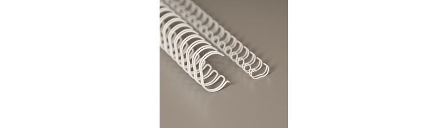 Metallikampa (Wire-o) materiaalit